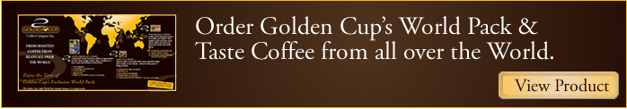 Welcome to Golden Cup Coffee Inc.
